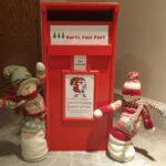 Santa's post box is ready!